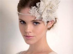 2013打造复古别致的新娘发型