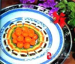 鲁菜菜谱:红梅鱼肚