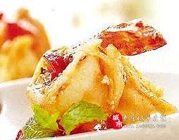 鲁菜菜谱:草莓虾球