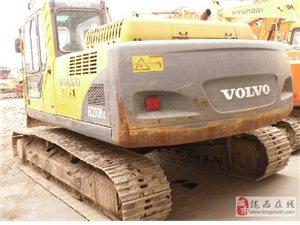 陇西县出售工地沃尔沃210挖掘机现场 试机