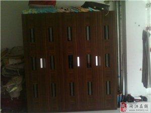 出售大衣柜和实木双人床和电视柜