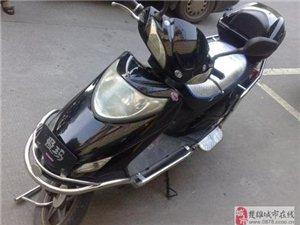 出售八成新二手踏板电动车