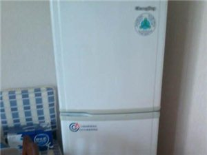 家用冰箱 无损坏 白色