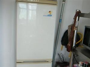 转让海尔家用立式189立升双开门冰箱一台
