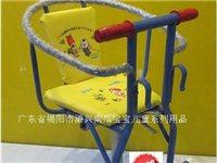 单车儿童座椅前