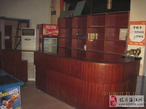 网吧吧台货架3000元5匹海尔空调2600元
