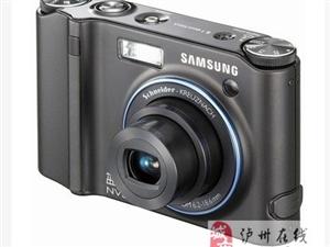 泸州出售二手三星蓝调nv30 数码相机
