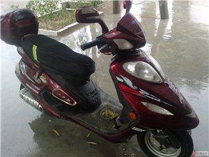 出售二手燃油踏板助力车