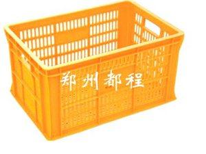 河南塑料周轉筐/河南水果筐/蔬菜周轉筐