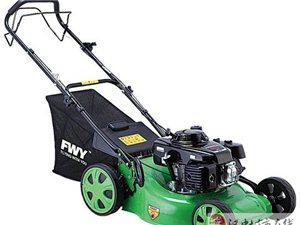 漢中草坪機專賣18寸自走式帶集草袋汽油割草機草坪機