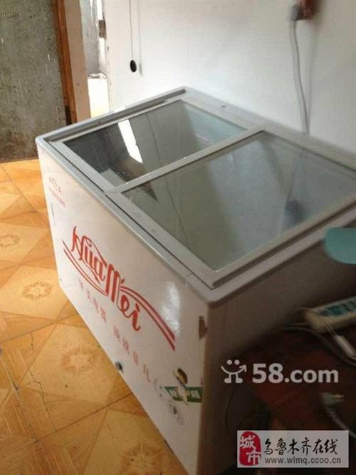 1000元低价转让华美展示冰柜