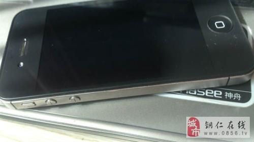 铜仁市黑色苹果iPhone4S16GB转让