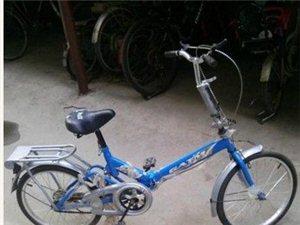郑州 9成新可折叠自行车