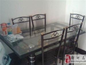 低价转让家具(餐桌带餐椅,电视柜)共700元