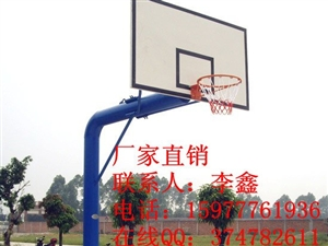 工地地埋式篮球架南宁诺莱厂家直销