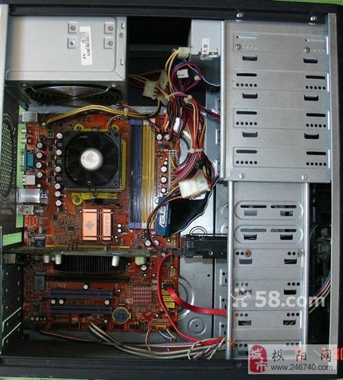 出AMD雙核5000+電腦主機一臺