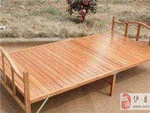 1.2米2米 折叠床竹床 - 100元