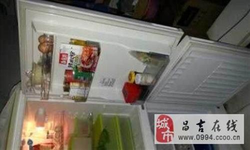 海爾雙開門冰箱