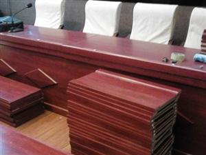 出售会议室桌子,摆了一个星期,因尺寸不符合甲方要求