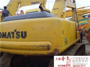 转让进口小松200-6大型挖掘机