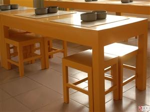 实木桌凳转让