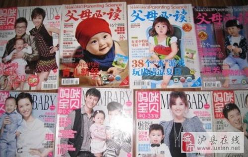 泸县转让母婴杂志 - 3元