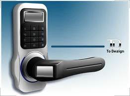 HK28智能电子密码门锁3B