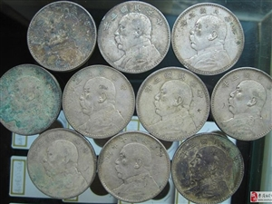 收购银元,回收银元,求购银元