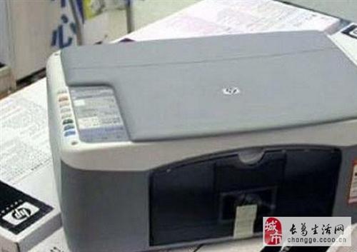 9成新HP1406打印.复印.扫描.彩色一体机
