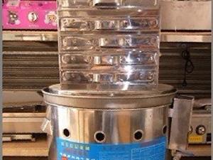 圆型四抽肠粉机,磨浆机,配套手推车,煤气罐出售