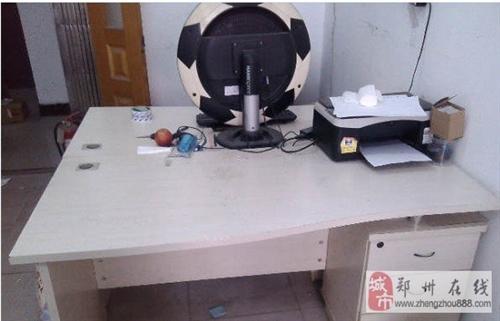郑州东风路电脑办公桌2个贱卖