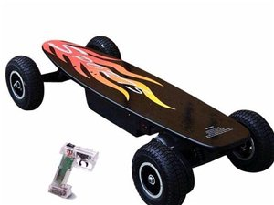 四轮电动滑板,代步越野滑板