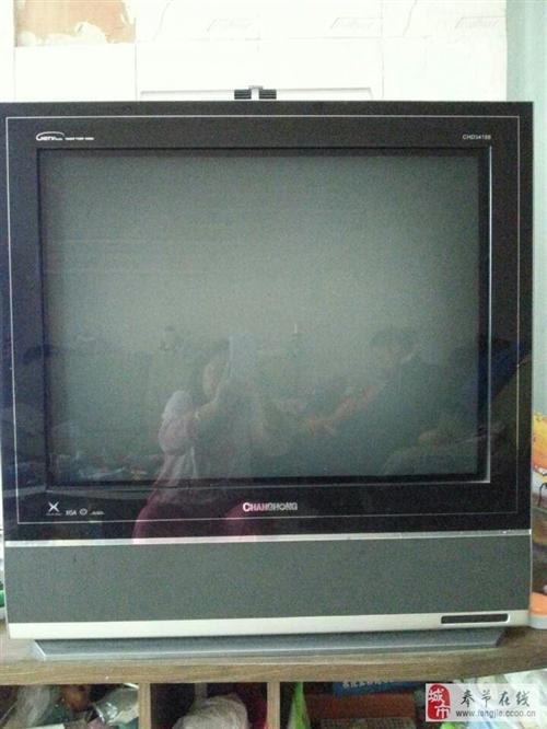 出售2手正常使用中的数字高清电视机