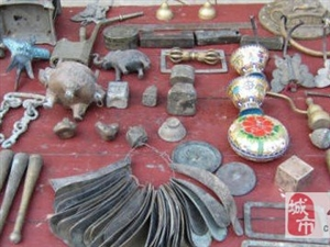 各种古玩新老工艺品铜杂件