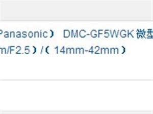 出售京东抢购的松下GF5黑色双头套一部全新