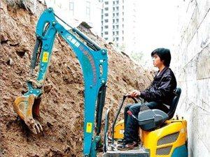 久保田15型挖掘机出租