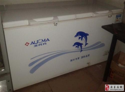 澳柯玛双开门卧展冰箱一台448升