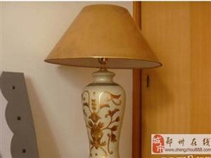 郑州陶瓷中式花瓶台灯-60元