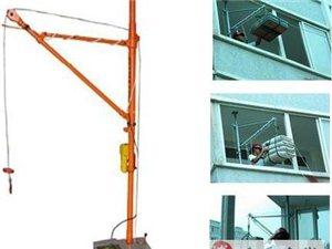 專業吊機為你吊運水泥。沙、瓷磚、、、上樓,為您裝修