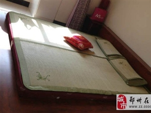郑州九成新韩式榻榻密床外加床垫