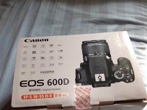 佳能EOS600D18-55套机割爱出售!