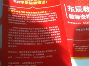 東辰教育教師資格證培訓