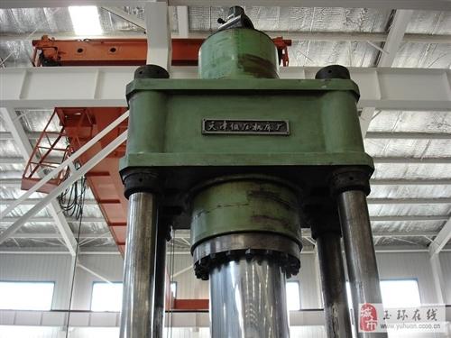 转让天津锻压机床大行程400T四柱液压机