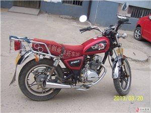 珠峰-光阳125型太子摩托车8成新,闲置低价处理