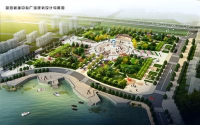 蓝田新城规划图