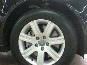 奥迪16寸轮毂带轮胎低价出让,4套1600元