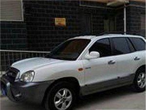 出售郑州11年圣达菲韩国进口发动机2.0t柴油版