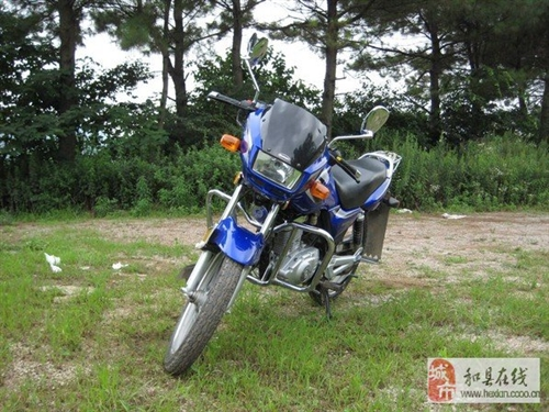 豪爵鈴木EN125摩托車轉讓