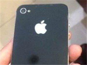 国行苹果4黑色8g无拆修 - 1300元