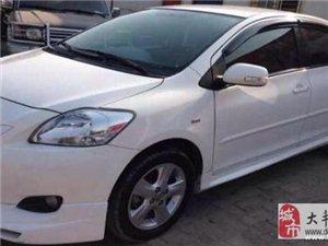 白色新款丰田威驰自动挡换车转让!